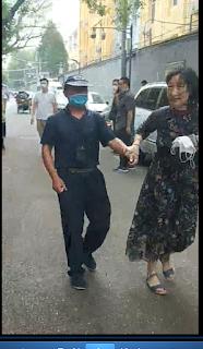 刘兴国在北京遭女公安截访